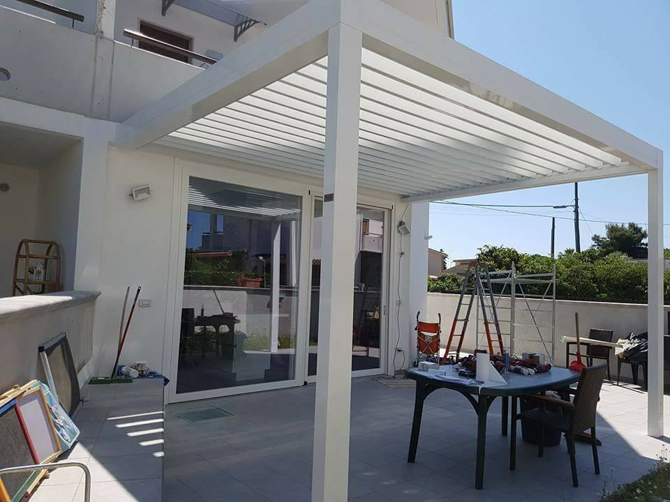 Niente pi autorizzazioni comunali per gazebo e pergolati - Cucina sul terrazzo ...